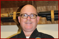 Jim is a Veterinary Doctor, a Colonel in the US Army Reserve, and a Shihan (Master Instructor) in the Bujinkan